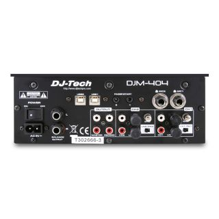 2-DJ TECH DJM-404 - B-Stock