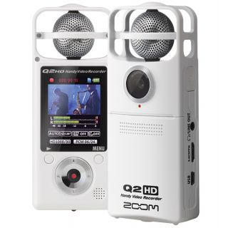 2-ZOOM Q2HD-WH + Custodia S