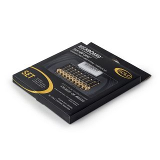 2 Rockboard - RBO CAB PW SET GD PatchWorks Solderless Patch Cable Set Gold