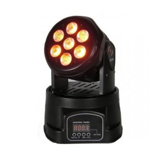FLASH LED MOVING HEAD 7X10W orange
