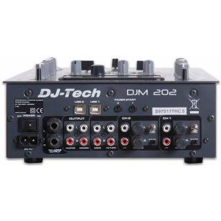2-DJ TECH DJM202 - MIXER US