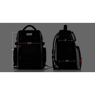 2-MONO EFX FLYBY PACK BLACK
