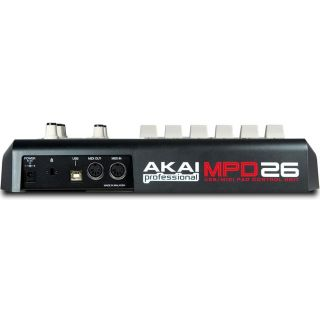 2-AKAI MPD26 - MIDI PAD CON