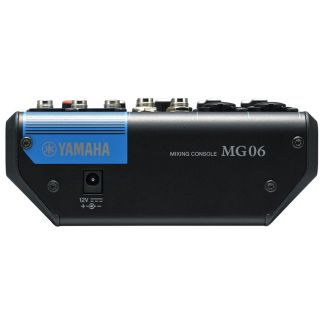 2-YAMAHA MG06 - MIXER 6 CAN