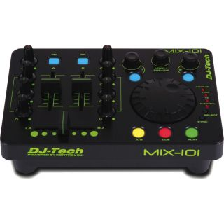 2-DJ TECH MIX101 - CONTROLL