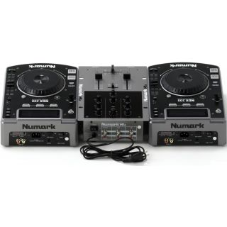 2-NUMARK CD DJ IN A BOX  -