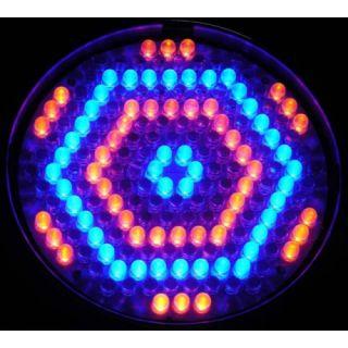 2-FLASH LED PAR 64 186x 10m