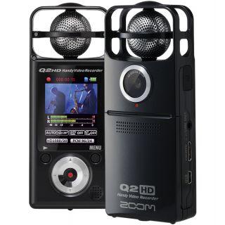 2-ZOOM Q2HD-BK -REGISTRATOR