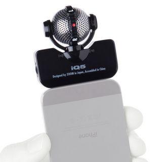 2-ZOOM iQ5/B Black  microfo