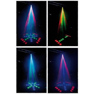 2-SHOWTEC DJ LED SCANNER -