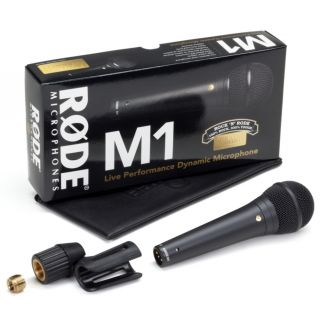 2-RODE M1 - MICROFONO DINAM