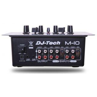 2-DJ TECH M10 - MIXER PER D