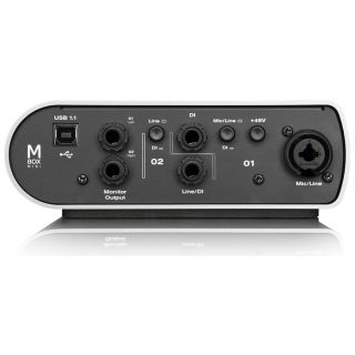 2-AVID MBox Mini + Pro Tool