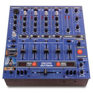2-DJ TECH DDM3000 BLU MIXER