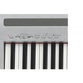 2-YAMAHA P95 Silver - PIANO