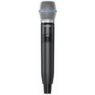 Shure GLXD24E/Beta87A - Radiomicrofono Palmare Digitale Wireless per Voce03