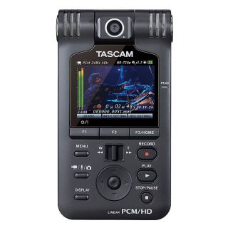 2-TASCAM DR-V1HD - REGISTRA