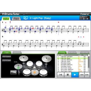 2-ROLAND DT1 V-Drums Tutor