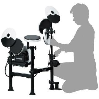 2-ROLAND TD4 KP V-Drums Por