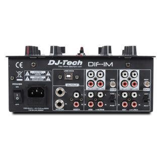 2-DJ TECH DIF-1M - MIXER 2