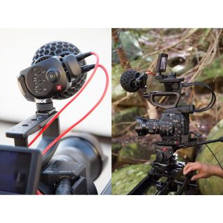 2-RODE STEREO VIDEOMIC X -