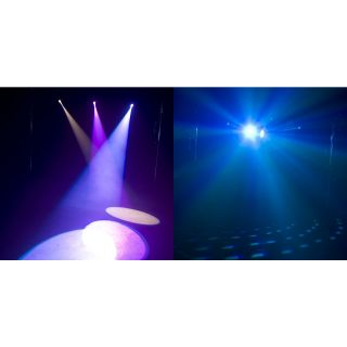 2-AMERICAN DJ LED TRISPOT -