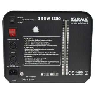 2-KARMA SNOW 1250 - B-Stock