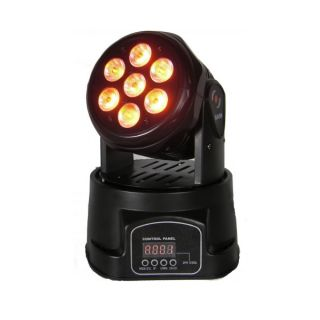 2-FLASH LED 2 MOVING HEAD 7