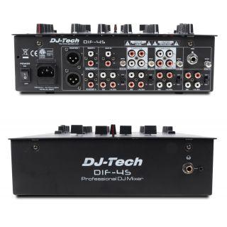 2-DJ TECH DIF-4S - MIXER 4