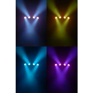 2-CHAUVET MINI 4BAR - Mini