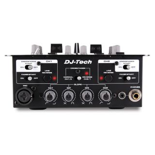 2-DJ TECH X10 - MIXER DJ 2