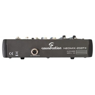 2-SOUNDSATION NEOMIX 202FX