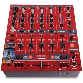 2-DJ TECH DDM3000 RED - MIX