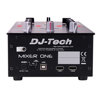 2-DJ TECH MIXER ONE - CONTR