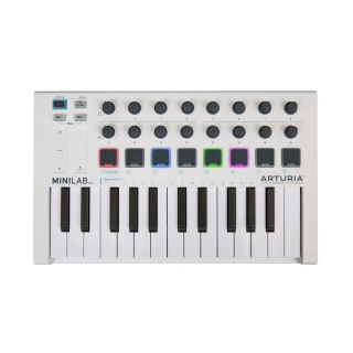ARTURIA MINILAB MKII - Tastiera Controller Entry Level_front