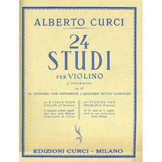 24 studi per violino 1 posizione