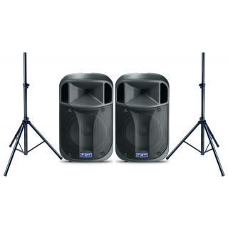 FBT Coppia J 12A con Speaker Stand 900W RMS