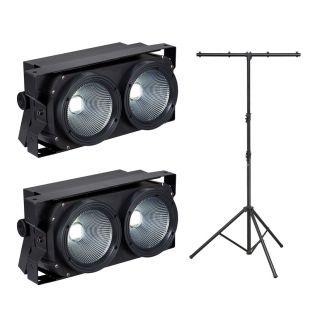 Soundsation 2 x LightBlaster 102 COB con Supporto