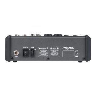 3-PROEL M6 - Mixer 6 input
