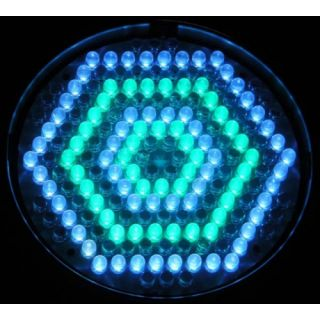 3-FLASH LED PAR 64 186X RGB