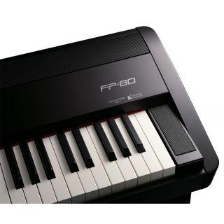 3-ROLAND FP80 BK Black - PI