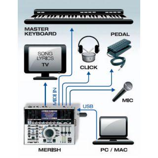 3-M-LIVE MERISH Plus - MIDI