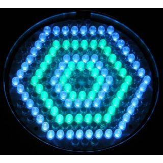 3-FLASH LED PAR 64 186x 10m