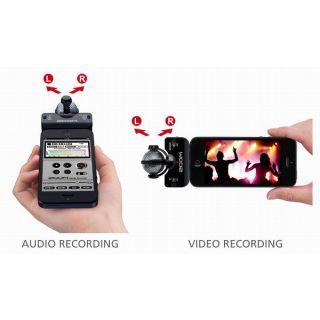 3-ZOOM iQ5/B Black  microfo