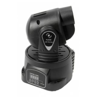 3-FLASH MOVING HEAD LED 15W