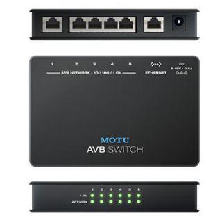 3-MOTU AVB SWITCH - SWITCH