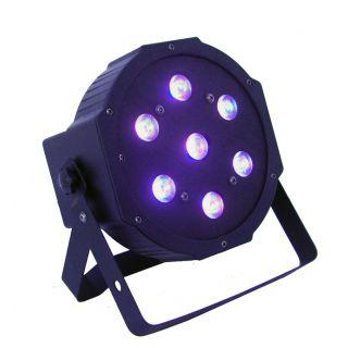 3-FLASH LED PAR SLIM 56 RGB