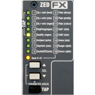 Allen & Heath ZED 22 FX - Mixer 22 Ch con Effetti04