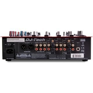 3-DJ TECH DDM3000 RED - MIX