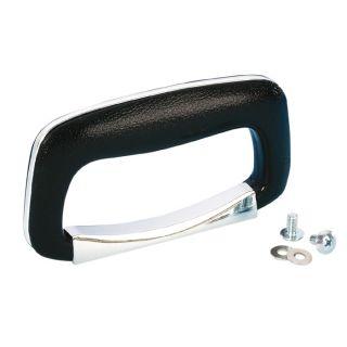 0 Adam Hall Hardware 3438 - Maniglia per Valigia in plastica nera/cromata